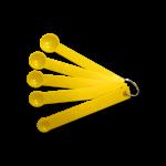 Мерные ложки 5 шт, желтые